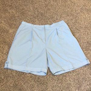 16 Liz Golf sky blue golf shorts